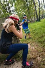 hocking-6530 (FarFlungTravels) Tags: activities fun games gun hockinghills lasertag laurawatiloblake obstacles ohio shoot tourism woods 2018