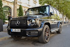 "Mercedes G63 AMG 2018 ""mon premier"" (Monde-Auto Passion Photos) Tags: voiture vehicule auto automobile mercedes classe g63 g63amg amg 4x4 suv noir black new nouveauté monceau hoche france paris"