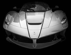 APERTA (Dave GRR) Tags: ferrari laferrari aperta ea carsncoffee toronto auto show custom tuning monochrome bw mono olympus carbon supercar hypercar sportscar exotic