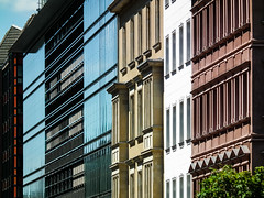 Facades (Raoul Pop) Tags: stone glass act building line city material structure berlin summer facade travel neoclassic germany object architecture technology symmetry europe descriptor time trip de