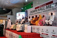 Special Town Hall Meeting on measures by the FG to curb killings, held in Gusau, Zamfara State.