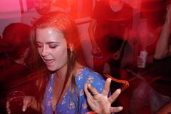 DJ Killer party (Gary Kinsman) Tags: fujifilmxpro1efx20 efx20 flash slowsync slowsyncflash clapton fujix100t fujifilmx100t 2018 london hackney e5 party houseparty people person highiso late night red redlight longexposure slowshutterspeed 1second candid unposed dance dancing