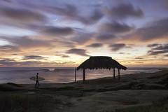 Last One Out (Lee Sie) Tags: windanseabeach beach sandiego lajolla california surfer wave surf sunset sky clouds sugarshack reef seascape ocean marine west coast outdoors