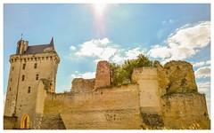 Ramparts (Babethaude) Tags: architecture indreetloire monument rampart medieval touraine valleyofloire
