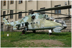 013 Mil 24D preserved in Warsaw (SPRedSteve) Tags: 013 mil mi24 mi24d hind polish poland warsaw relic museum