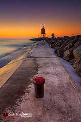 Light Path (andrewslaterphoto) Tags: andrewslaterphotography discoverwisconsin greatlakes lakemichigan light lighthouse morning northbeach outdoors path place racinewi sunrise travelwisconsin water waves wisconsin racine unitedstates us canon 5dmarkiii leefilter