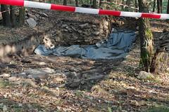 Gars (Harald Reichmann) Tags: gars schanzberg archäologie forschung wissenschaft geschichte grabung stein erde plane abdeckung