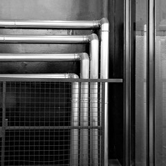 Pipes (keinidyll) Tags: zechezollverein pipes bw abstract minimal nrw ruhrgebiet essen detail