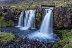 Church Mountain Waterfall (Kirk Lougheed) Tags: iceland icelandic kirkjufellfoss snaefellsnes vesturland landscape outdoor river stream water waterfall
