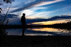 looking to city of Kuopio on the beach (VisitLakeland) Tags: finland kuopio lakeland summer auringonlasku evening ilta järvi kesä lake luonto maisema nature outdoor scenery silhuet siluetti sunsets water