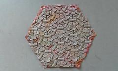 Snowflake Flagstone Tessellation - Ben Parker (Monika Hankova) Tags: origami tessellation flagstone