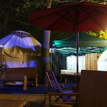 Edinburgh International Book Festival 2018 - Charlotte Square after dark 01 thumbnail