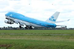 Boeing 747-400 KLM PH-BFI (Arthur CHI YEN) Tags: boeing 747400 klm phbfi eham ams 747 b747 b744