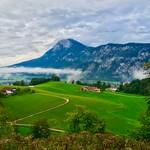 River Inn valley with Kaiser mountains thumbnail