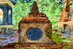 India - West Bengal - Kolkata - South Park Street Cemetery - 16bb (asienman) Tags: india westbengal kolkata southparkstreetcemetery asienmanphotography asienmanphotoart asienmanpaintography