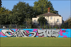 Sterling (Alex Ellison) Tags: sterling southlondon urban graffiti graff boobs halloffame hof
