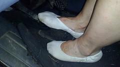 Řízení v piškotech (Merman cvičky) Tags: balletslippers ballettschläppchen ballet slipper ballerinas slippers schläppchen piškoty cvičky ballettschuhe ballettschuh