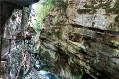 Biel – Taubenlochschlucht (Bernergieu) Tags: switzerland taubenlochschlucht biel mountains gorge rocks water felsen schlucht wasser hiking hff happyfencefriday