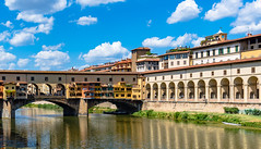 River Arno and Ponte Vecchio Firenze (Michael Croft) Tags: culture history firenze tuscany italy florence