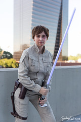 20180831-154622-5D3B9892 (zjernst) Tags: 2018 atlanta convention empirestrikesback episodev georgia luke skywalker starwars brunette cosplay costume dragoncon jedi lightsaber outside scifi weapon