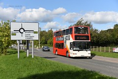 chain reaction (D Stazicker Photography) Tags: transdev keighley 2734 rosso plaxton president lk03njj 111 rossendale