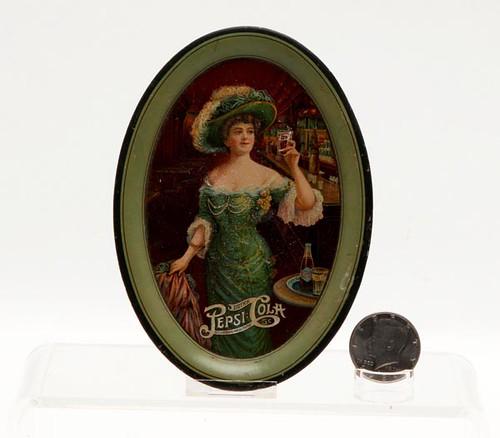 1909 Pepsi Cola tip tray ($291.20)