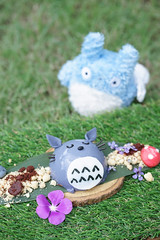 Bangkok - September 15, 2018 : A Totoro dessert, a signature dessert menu inspired from famous Japanese children animation My Neighnour Totoro, created by Hayao Miyazaki, co-founder of Chibli Studio. (enchanted.fairy) Tags: animation anime asia asian attraction baked cafe cartoon character chibi children chocolate cream cute dessert destination entertainment famous fantasy film flower forest ghibli gourmet hayao homemade japan japanese jelly kawaii menu miyazaki museum nature neighbor neighbour pastry puff sightseeing signature studio sugar sweet tokyo totoro tourism tourist toy travel