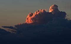 Storm's a Comin (Autophocus) Tags: storm weather seasons clouds sky watervapor sunlit thunder rain endofsummer autumn evening dusk ambientlight