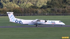 G-JECK FlyBe DHC-8 Q400  SOU 210918 (kitmasterbloke) Tags: sou southampton aircraft aviation airliner transport hampshire outdoor