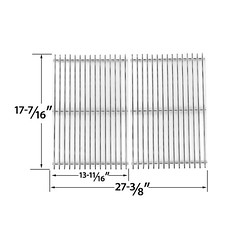 2-PACK-REPLACEMENT-STAINLESS-STEEL-COOKING-GRID-FOR-VERMONT-CASTING-VCS4008-UNIFLAME-GBC831WB-C-MASTER-FORGE-1010048-GAS-GRILL-MODELS (grillpartszone) Tags: stainless steel cooking grid vermont casting