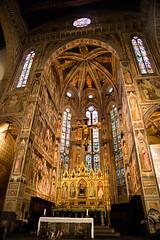 Basilica di Santa Croce, Florence, Italy. (Journey CPL) Tags: basilica di santa croce florence italy glorious gold ambient church golden color colorful vibrant jesus religion light