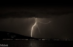 Orage sur l'Albanais (paul.porral) Tags: éclairs lightning storm sky orage foudre landscape nightscape flash thunder thunderlight night stormchaser nature cloud electric weather thunderstorm flickr ngc