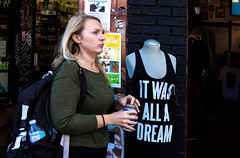 It was all a Dream (klauslang99) Tags: streetphotography klauslang person toronto
