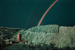 2018 08 25 Regenbogen in Manderscheid IR - 07e (Mister-Mastro) Tags: rainbow regenbogen 720nm infrared ir