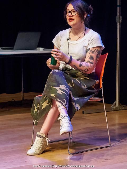 P7260155 Sarah Corbett at Winchester Skeptics
