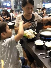 2018.7.24  誠石火鍋 (amydon531) Tags: baby boys kids brothers justin jarvis family cute summer vacation 雲林 誠石火鍋