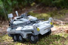 """VRB 1 """"Caracal"""" (TierMR) Tags: war guns army military armored recon vehicle infantry support"""