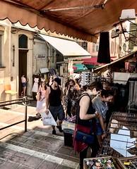 """Millefleurs"" (giannipaoloziliani) Tags: capture capturestreets livelife europe nizza france lightandshadow hard darkness dark nikonphotography nikoncamera nikon hdr colors people streetlife streetphotography market nice flickr"