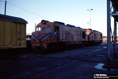 3690 XB1004 XA1401 Avon Loco Depot 20 May 1983 (RailWA) Tags: railwa philmelling westrail 1983 xb1004 xa1401 avon loco depot