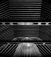 San sebastian de la gomera nuestra senhora de la asuncion church ceiling black and white (patrick555666751 THANKS FOR 5 000 000 VIEWS) Tags: san sebastian de la gomera nuestra senhora asuncion church chiesa eglise iglesia igreja black and white noir et blanc i negre preto e branco schwarz und weiss blanco y negro bianco nero ceiling plafond europe europa espagne espana spain atlantic atlantique atlantico canarias canary canaries iles islas ilhas islands isola patrick55566675 island macaronesia kanarische inseln spanien