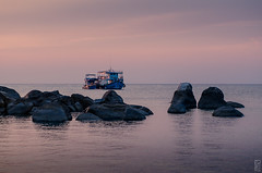 sunset scenery (peter birgel) Tags: thailand kohtao maehaadbay sunset scene scenery travel travelphotography nikon d7000