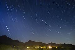 Stars trails (Lolo_) Tags: startrail étoiles filé voute céleste ciel sky night summer été dévoluy alpes montagne mountain longexposure poselongue agnières grandferrand rocherrond 05 hautesalpes