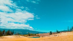 Keep it simple (Stefania Avila) Tags: desert villadeleyva nature landscape sky clouds colombia boyaca mountains lake