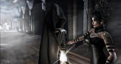 EPISODE Venue: Lila Yheng / Sombre pacte... (Lila yheng) Tags: episode halloween cemetery darkness