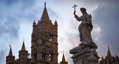 Statue of Saint Rosalia (lionel.lacour) Tags: palermo sicily italy c1 d610