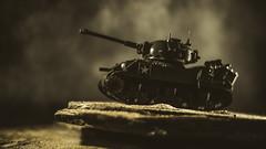 Awaiting Orders (3rd-Rate Photography) Tags: tank wwii megaconstrux megabloks toy toyphotography war canon nikon freelens freelensing lenswhacking 50mm 5dmarkiii jacksonville florida 3rdratephotography earlware 365 elens