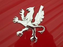 582 Iso (Automobiles) Badge - History (robertknight16) Tags: iso italy italian grifo badge badges automobilia brooklands