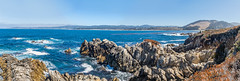 Panoramic: Point Lobos State Natural Reserve (mon_ster67) Tags: coastal water oceanview pch pacificocean ptlonos californiacoast pointlobos mon ©mon canon sigma canoneos7dmarkll ca cacoast westcoast coastline pointlobosnaturalreserve rockscape panoramic panorama california montereyca