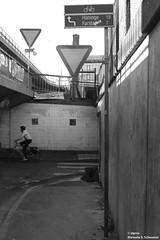 (alpros) Tags: sweden schweden sverige scandinavia northerneurope nordeuropa skandinavien stockholmslän stockholm gullmarsplan skanstullsbron schwarzweiss svartvit blackandwhite monochrome blackwhite
