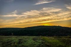 Running Moments (gabormatesz) Tags: iphonephotography photography landscape landscapes sunrise morning morningvibes runningmoments field sky